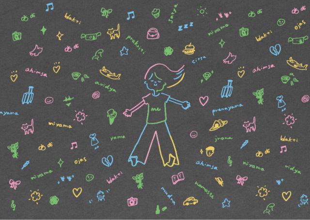 """photo: aoyoga """"自分の体に気づくためのヨガ"""" 〜呼吸と意識とイマジネーション〜"""
